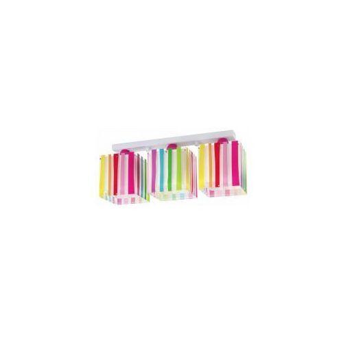Dalber 44023 - Plafon dziecięcy DECOLINE 3xE27/60W/230V. Najniższe ceny, najlepsze promocje w sklepach, opinie.