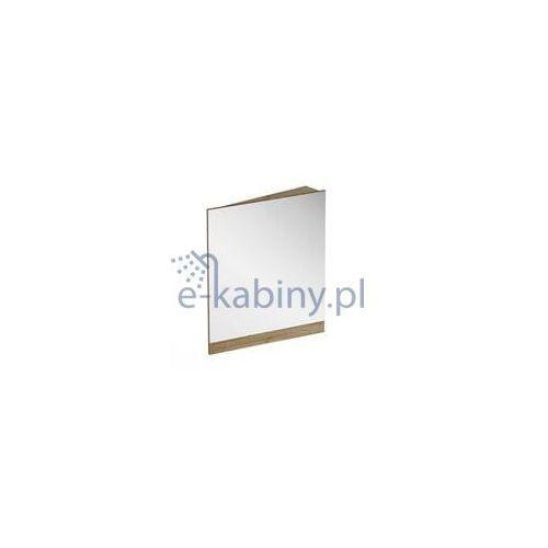 RAVAK 10° 550 Lustro narożne prawe 55x75 cm, kolor CIEMNY ORZECH X000001075 (8592626036409)