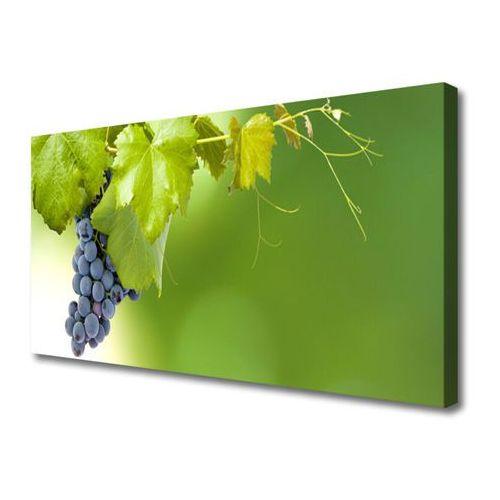 Tulup.pl Obraz canvas winogrona liście kuchnia