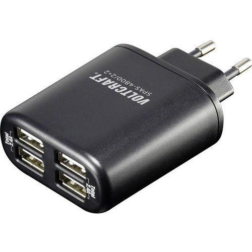 Ładowarka USB VOLTCRAFT SPAS-4800/2+2, 4800 mA, 4 wyjścia