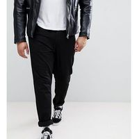 Duke PLUS Tapered Fit Jeans In Black With Stretch - Black, jeans
