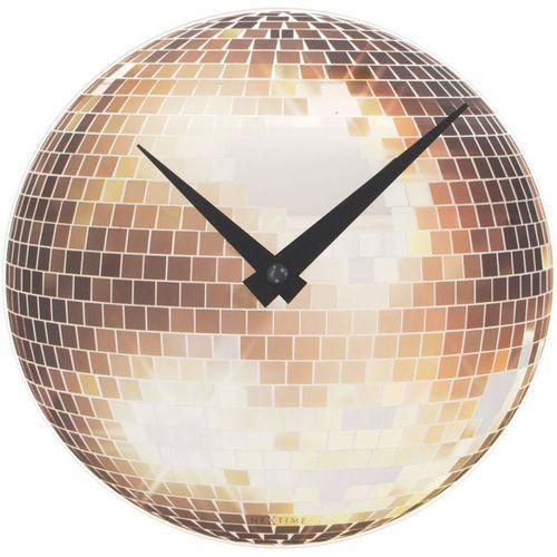 - zegar ścienny small disco marki Nextime
