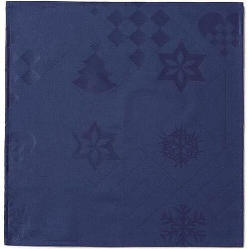 Serwetki natale 45 x 45 cm niebieskie 4 szt. marki Juna