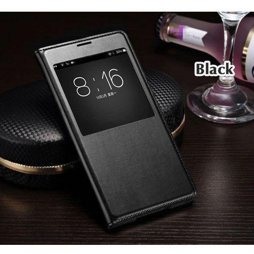 Flip Leather Czarny | Etui z klapką dla Samsung Galaxy S5 / S5 Neo - Czarny