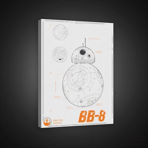 Obraz star wars episode vii the force awakens: bb-8 ppd1938 wyprodukowany przez Consalnet