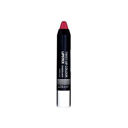 twist-up colour szminka pielęgnująca z matowym wykończeniem odcień classic marki Affect