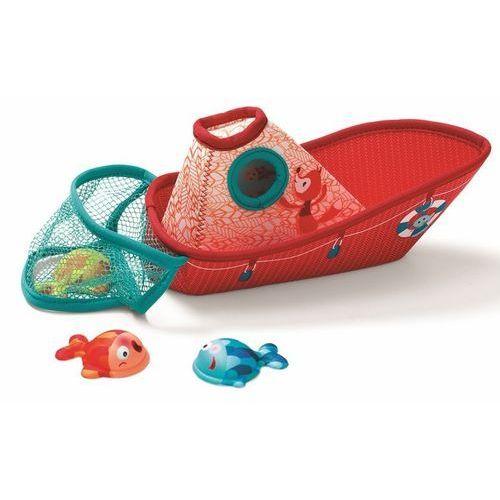 Lilliputiens Zabawki do wody - łódka z neoprenu z rybkami l86773