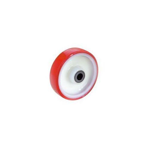 Opona poliuretanowa na feldze poliamidowej,z łożyskami rolkowymi marki Tente