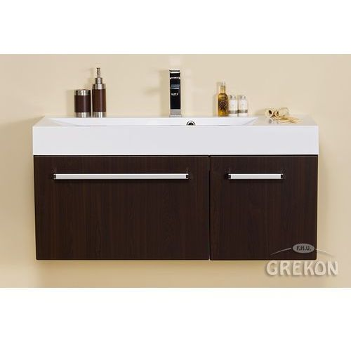 Szafka łazienkowa z umywalką 106/36/1 seria fokus wenge mat marki Gante