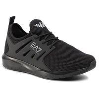Sneakersy EA7 EMPORIO ARMANI - X8X052 XCC57 A083 Triple Black, kolor czarny