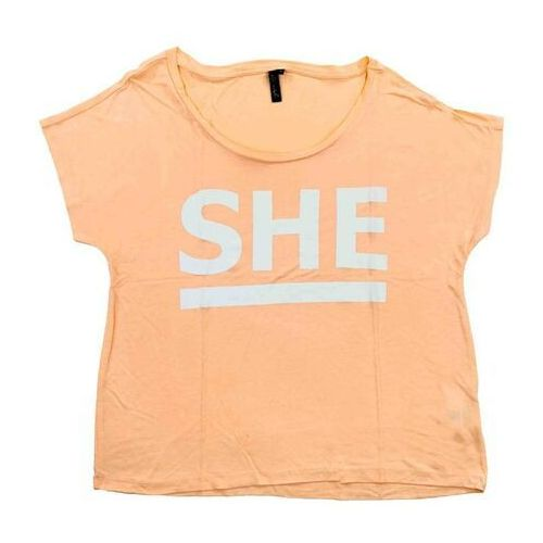 Koszulka - cley she tee tropical peach (20024) rozmiar: m marki Blend she