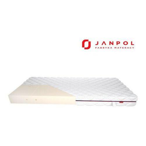 Janpol fides – materac lateksowy, piankowy, rozmiar - 180x190, pokrowiec - pixel wyprzedaż, wysyłka gratis