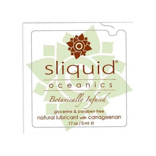 Środek nawilżający z karagenem - Sliquid Organics Oceanics Lubricant Pillow 5ml SASZETKA