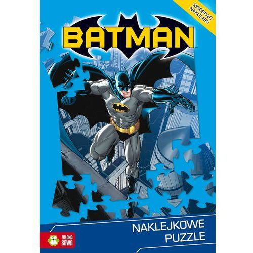 Naklejkowe puzzle. Batman (9788379836963)