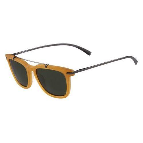 Okulary Słoneczne Salvatore Ferragamo SF 820S 708, kolor żółty