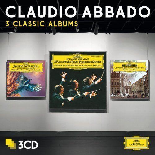3 CLASSIC ALBUMS - Claudio Abbado (Płyta CD)