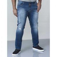 Asher-d555 jeansy męskie duże rozmiary marki Duke