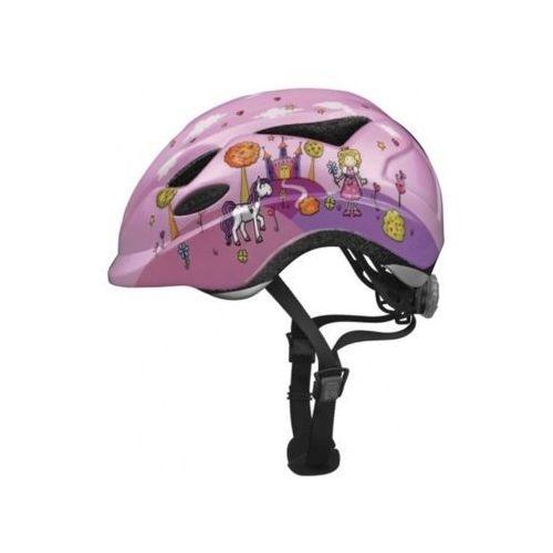 ABUS Anuky unisex – kask rowerowy dziecięcy Anuky, różowy, S (46–52 cm), 08152_Princess_Taille S 46-52 cm