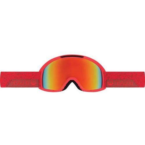 Gogle snowboardowe  - dx2 - stone red/red ionized + amber (450) rozmiar: os marki Dragon