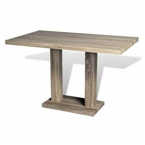 Dębowy stół z płyty meblowej – Casel
