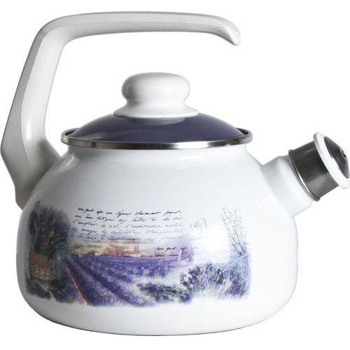 czajnik z gwizdkiem lawenda, 2 litry marki Metalac