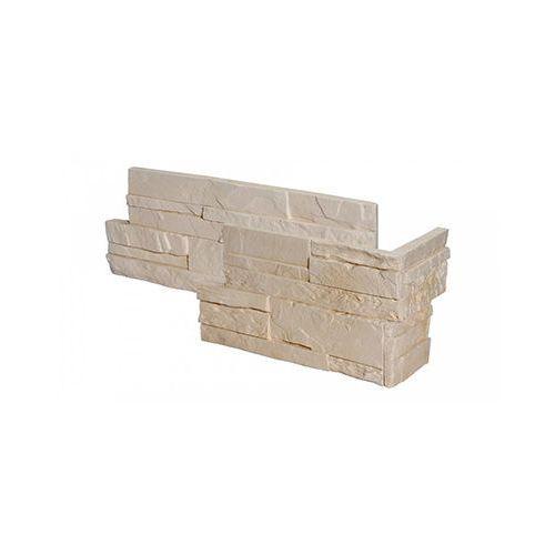 narożnik kamień dekoracyjny mayon 1 240-340/140-240x200x10-26 mm op. 2 mb marki Stones