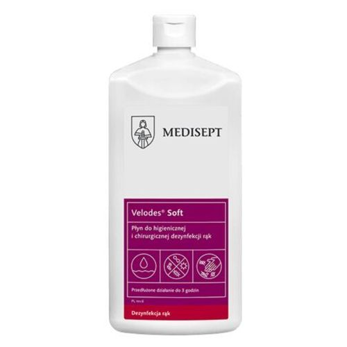 MEDI-LINE VELODES SOFT Płyn do dezynfekcji rąk 500 ml (ref. SSE-43-GOT-ML542)