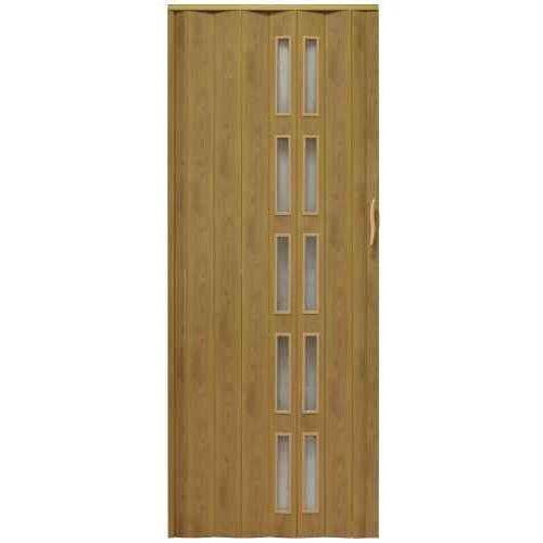 Gockowiak Drzwi harmonijkowe 005s 46 g jasny dąb mat g 80 cm