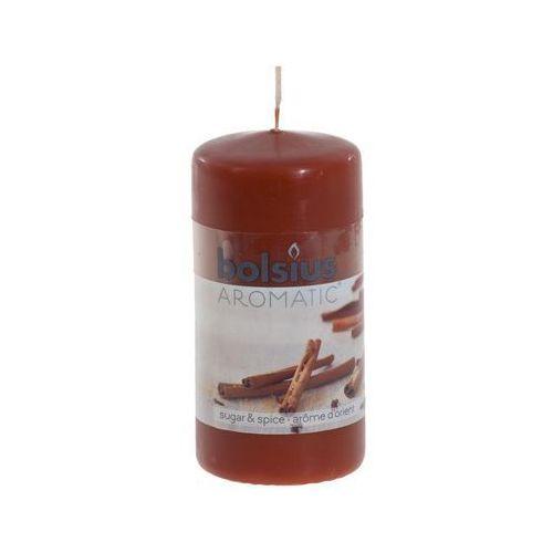 BOLSIUS 120/60 Cynamon świeca pieńkowa zapachowa (8717847059604)