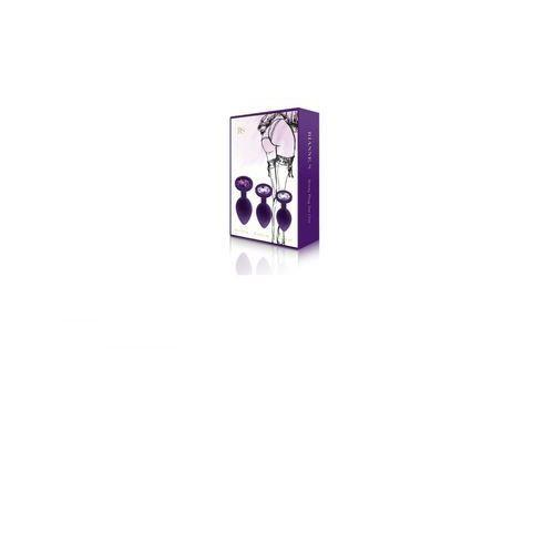 Rianne S - Booty Plug Set 3x Purple (8717903271933)