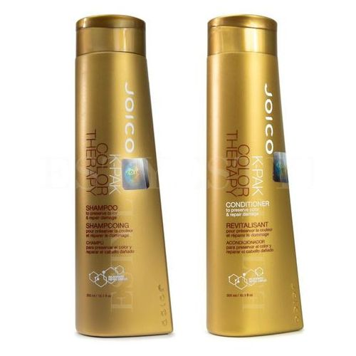 Joico k-pak color therapy | zestaw do włosów farbowanych: szampon 300ml + odżywka 300ml