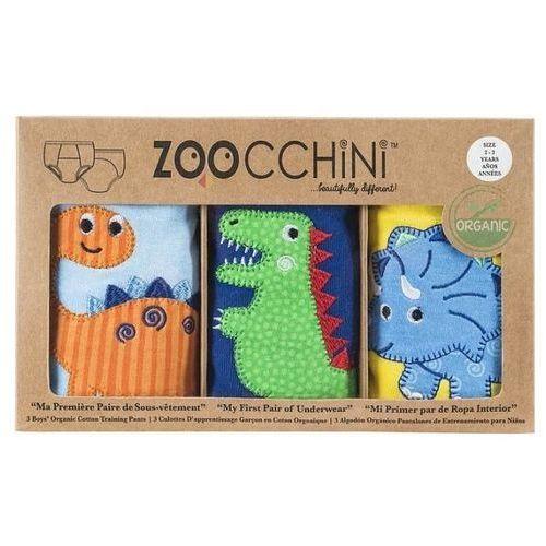 Zoocchini  majtki treningowe chłopięce świat dinozaurów 2 - 3 lata