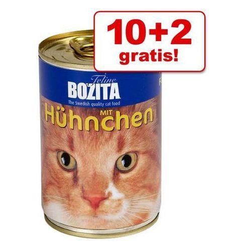 Bozita 10 + 2 gratis! w galarecie, 12 x 410 g - kurczak