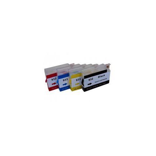 Wieczne kartridże do HP Officejet 932/933 - 4 szt. (z chipami) - komplet