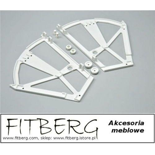 Zawias do szafki na buty dwurzędowy marki Fitberg
