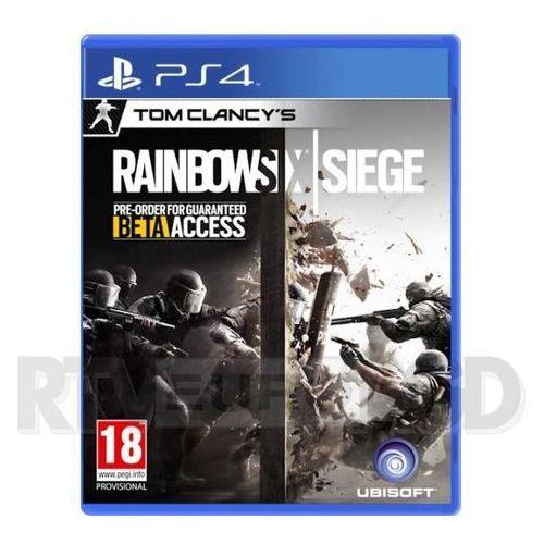 OKAZJA - Tom Clancy's Rainbow Six Siege (PS4) Darmowy transport od 99 zł | Ponad 200 sklepów stacjonarnych | Okazje dnia!