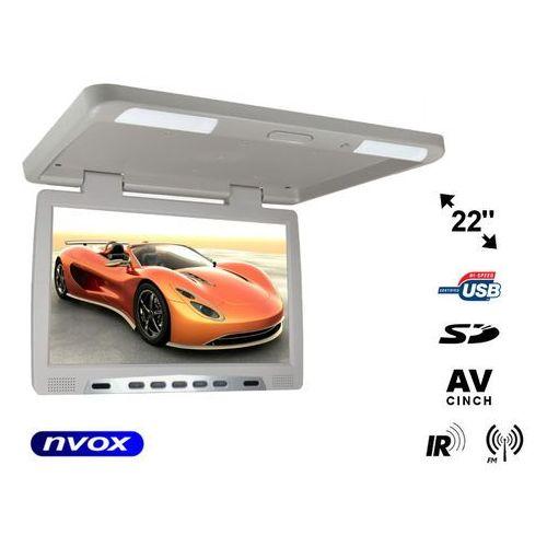 "NVOX RF2289U GR Monitor podwieszany podsufitowy LCD 22"" cale LED USB SD IR FM"