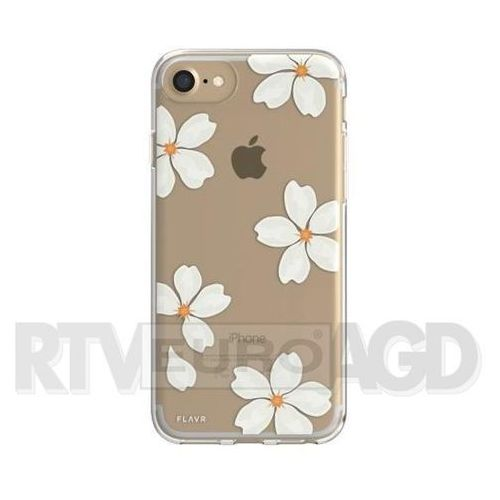 Etui FLAVR iPlate White Petals do Apple iPhone 6/7/6s/8 Wielokolorowy (30038), 30038