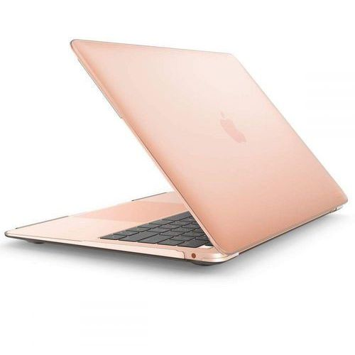 iblsn hardshell macbook air 13 2018/2019 frost clear marki Supcase