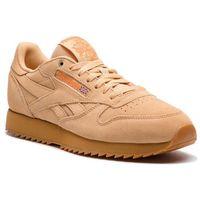 Reebok Buty - cl leather mu cn3874 cappucino/pure orange/gum
