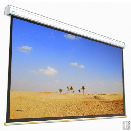 Ekran elektryczny Avers Solar 550x412cm, 4:3, Silver P