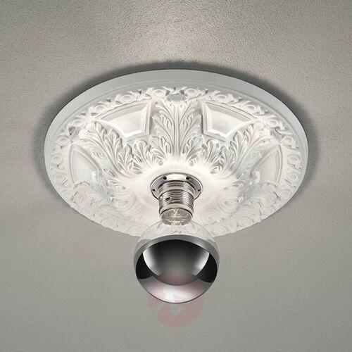 Trio Lampa sufitowa leuchten lilly biały, 1-punktowy - dworek/vintage/antyk - obszar wewnętrzny - lilly - czas dostawy: od 3-6 dni roboczych (4017807433807)