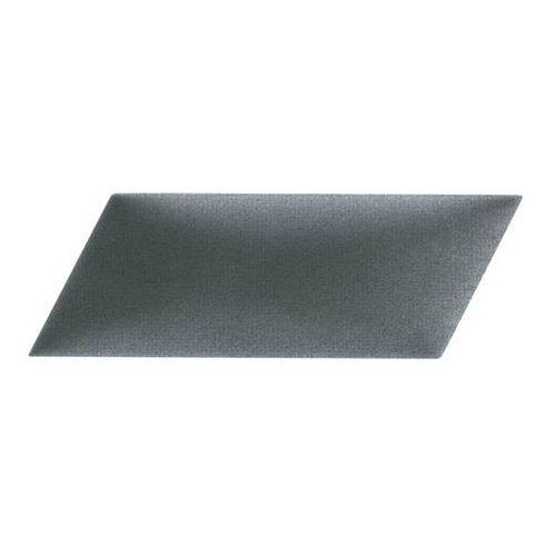 Panel ścienny tapicerowany mollis równoległobok 15 x 30 cm ciemnoszary p marki Stegu