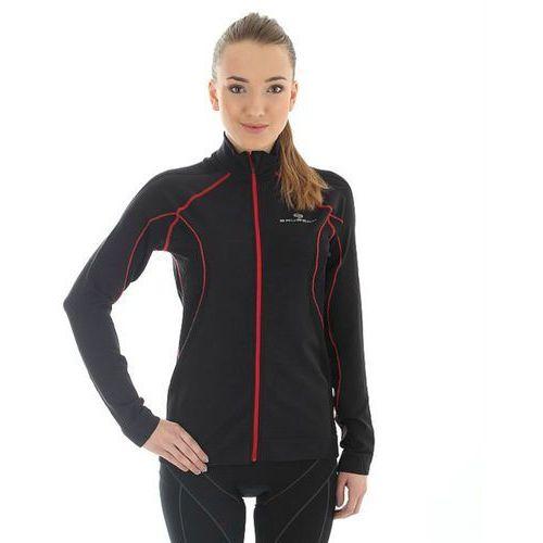 ls11050 - damska bluza wiatroszczelna (czarny) marki Brubeck