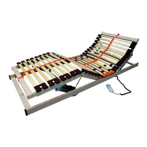 Stelaż regulowany elektrycznie z drewna brzozowego - Taida 90 x 200