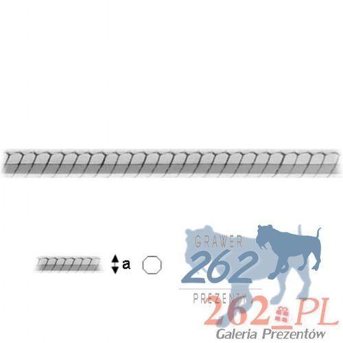 Łańcuszek Linka Wąż Srebro 925 50cm 2,8g