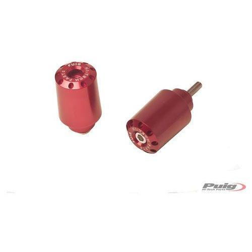 Końcówki kierownicy do Yamaha FZ8 / FZ1 / R6 / R1 (długie, czerwone) - sprawdź w wybranym sklepie