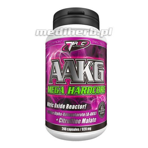 AAKG Mega Hardcore 120 kap. - więcej nasienia, silniejsza erekcja, 12-01-10