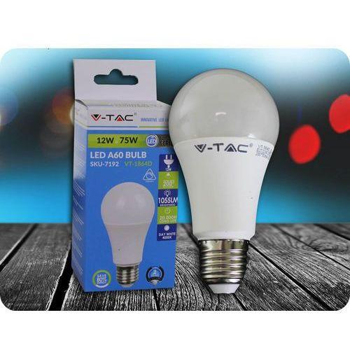 E27 żarówka led 12w (1055 lm), ściemnialna + bezpłatna natychmiastowa gwarancja wymiany! marki V-tac