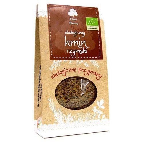 Kmin rzymski ( kumin ) całe nasiona bio 30 g dary natury marki Dary natury - przyprawy i zioła bio